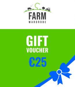 €25.00 Voucher (redeemable online)