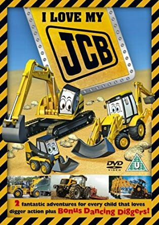 I Love my JCB #1 DVD