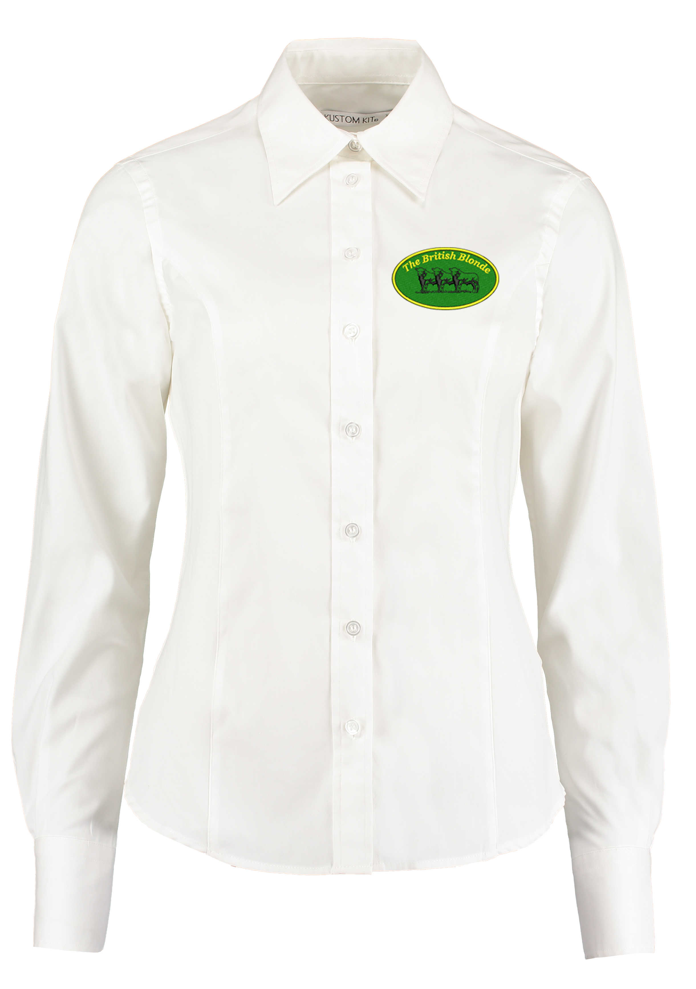 British Blonde Society Ladies Long Sleeved Shirt