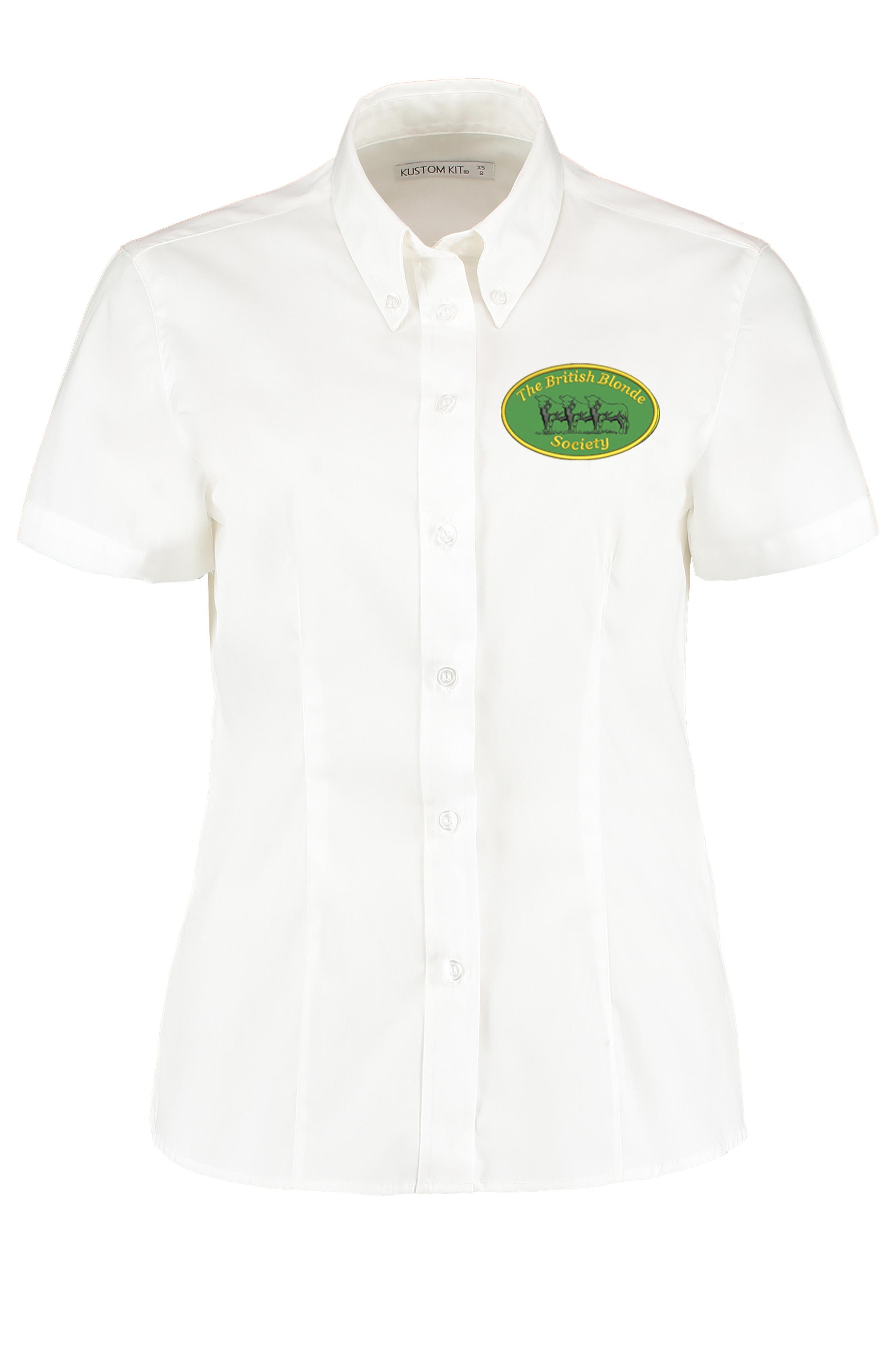 British Blonde Society Ladies Short Sleeved Shirt
