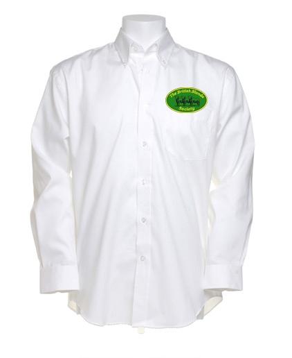 British Blonde Society Mens Long Sleeved Shirt