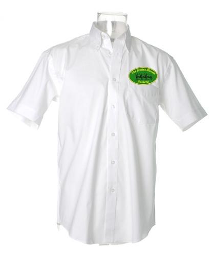 British Blonde Society Mens Short Sleeved Shirt