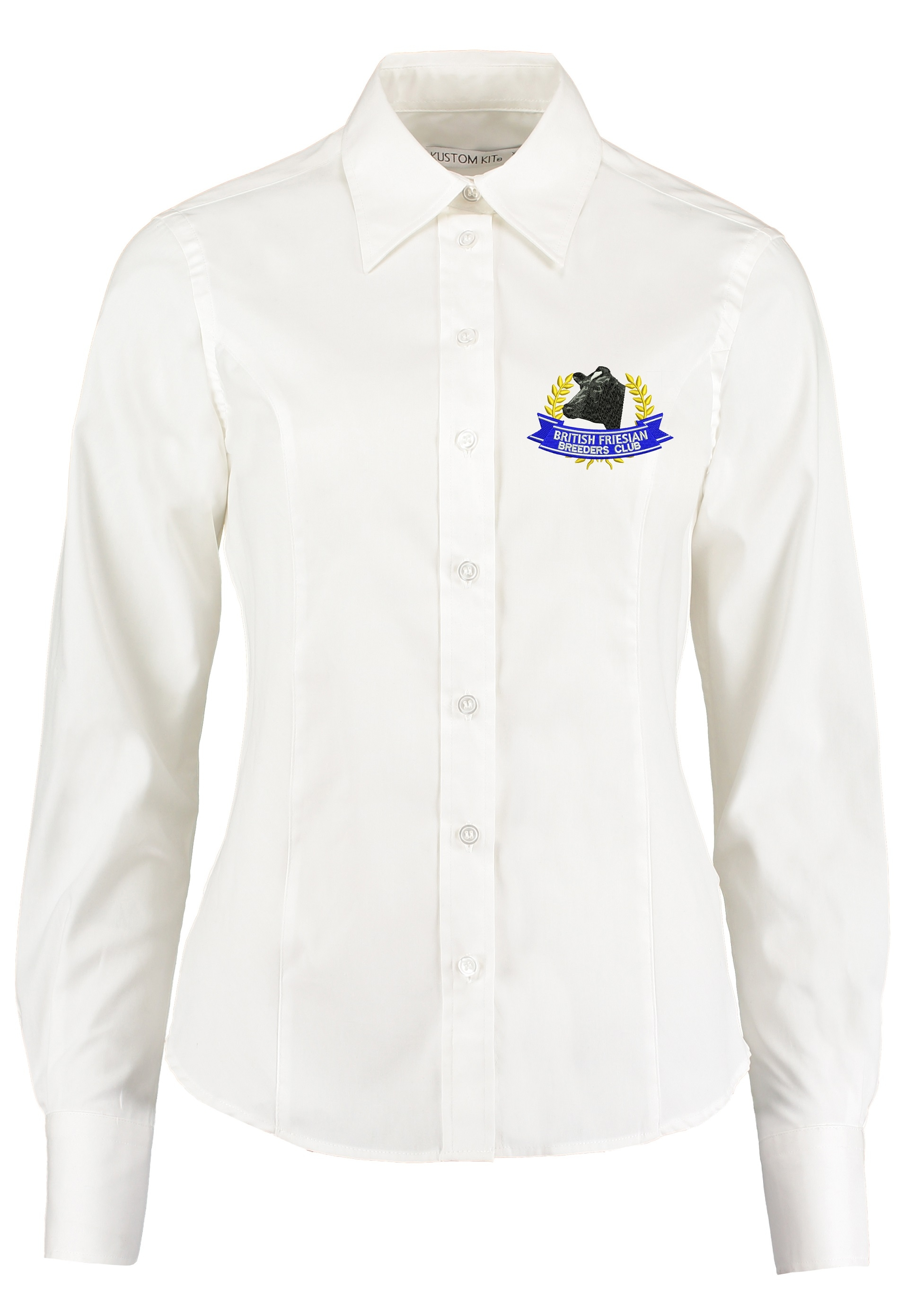 British Friesian Ladies Long Sleeved Shirt