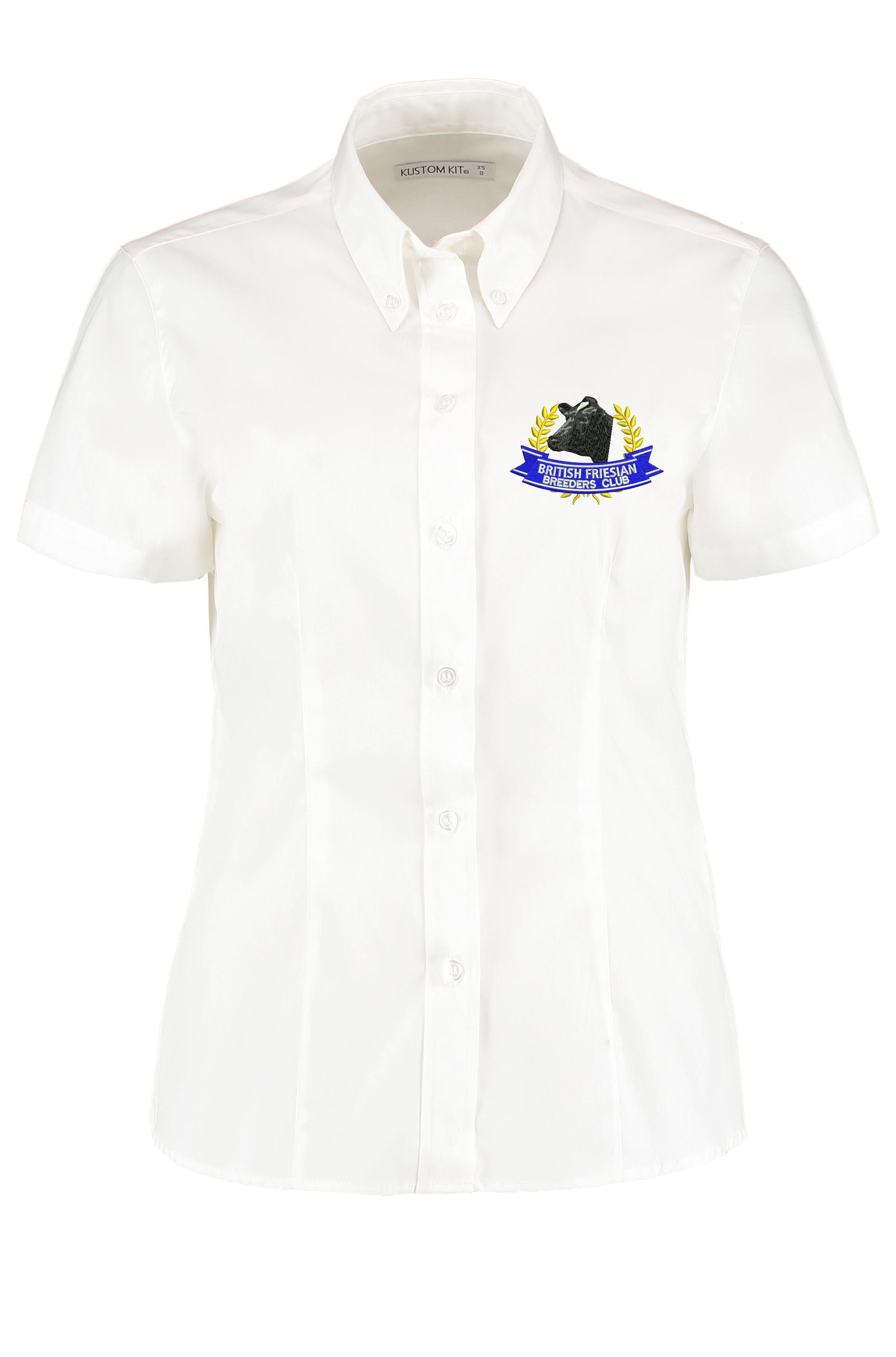 British Friesian Ladies Short Sleeved Shirt