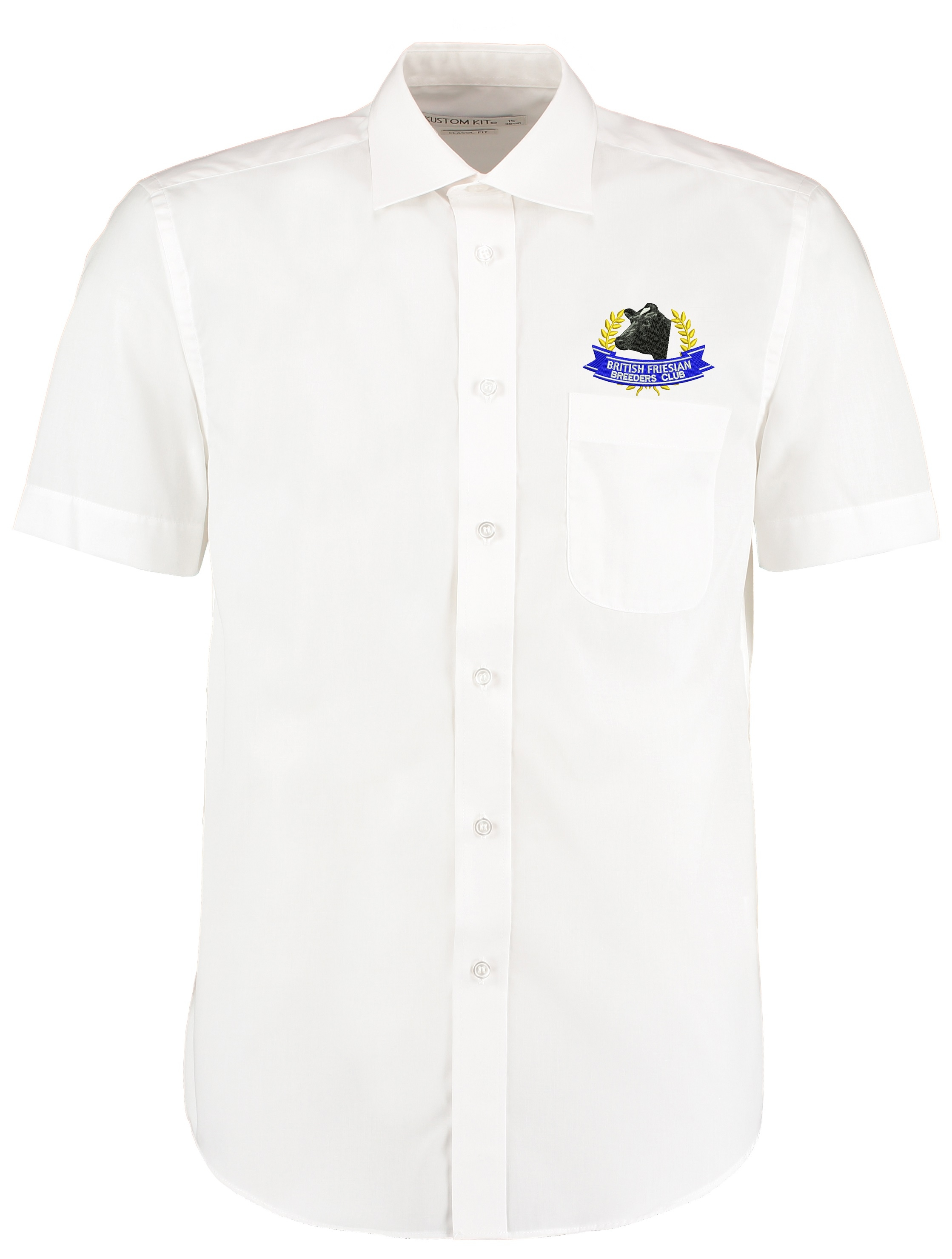 British Friesian Mens Short Sleeved Shirt