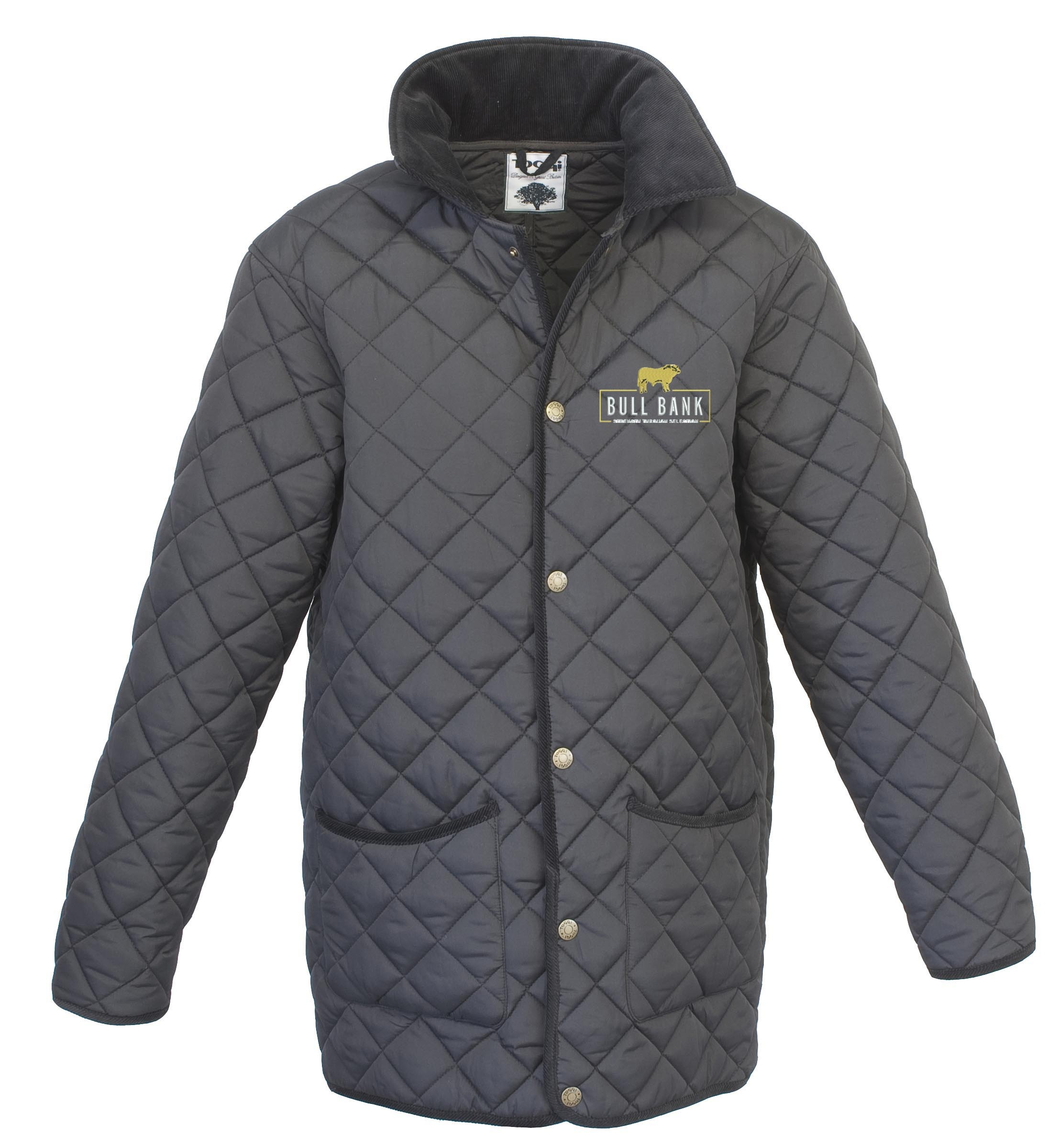 Bull Bank Mens Quilted Jacket