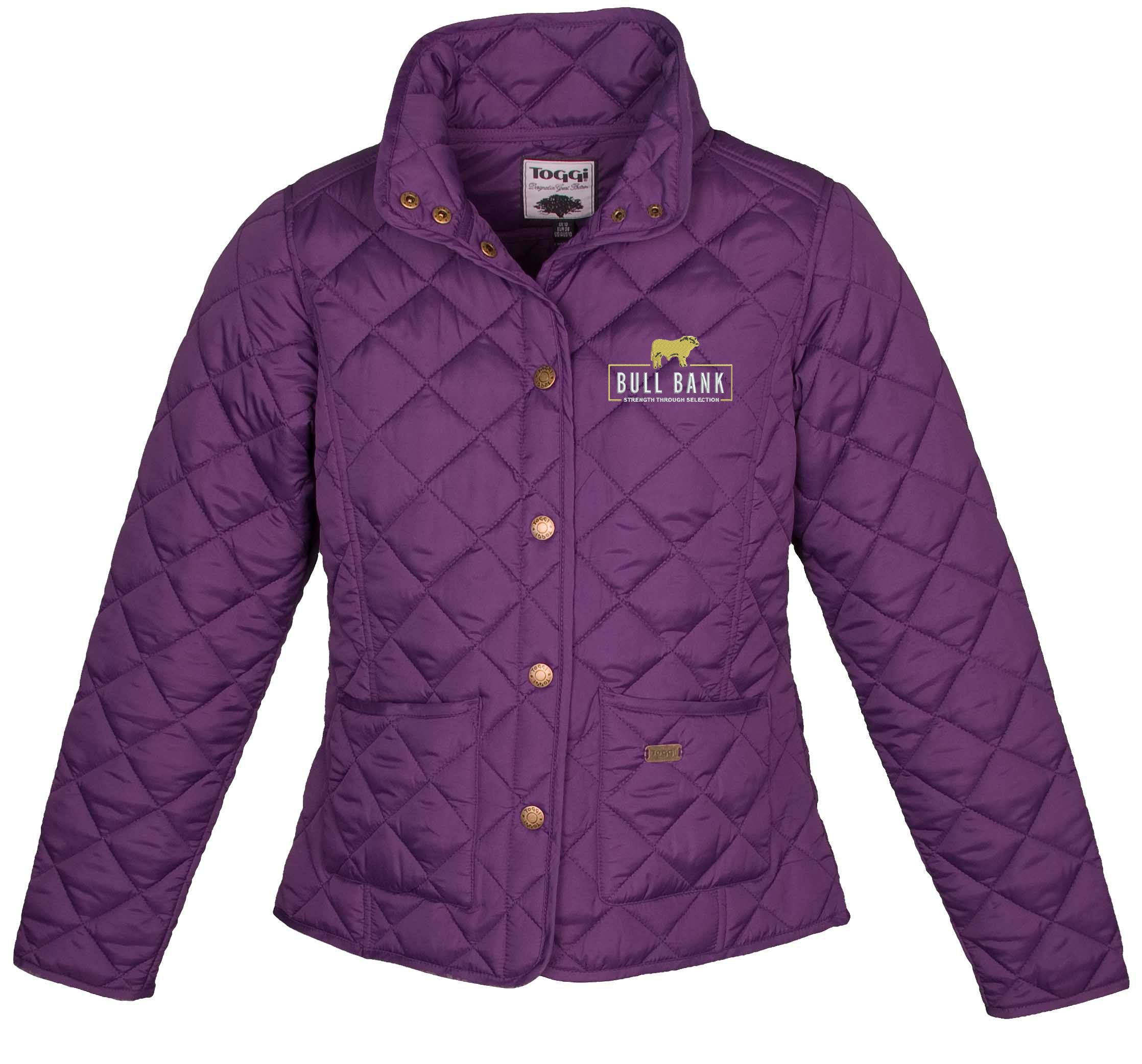 Bull Bank Ladies Quilted Jacket