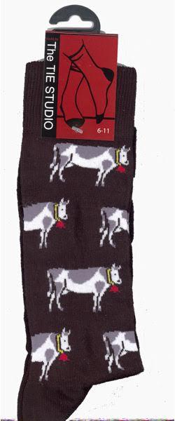Dairy Cow Socks