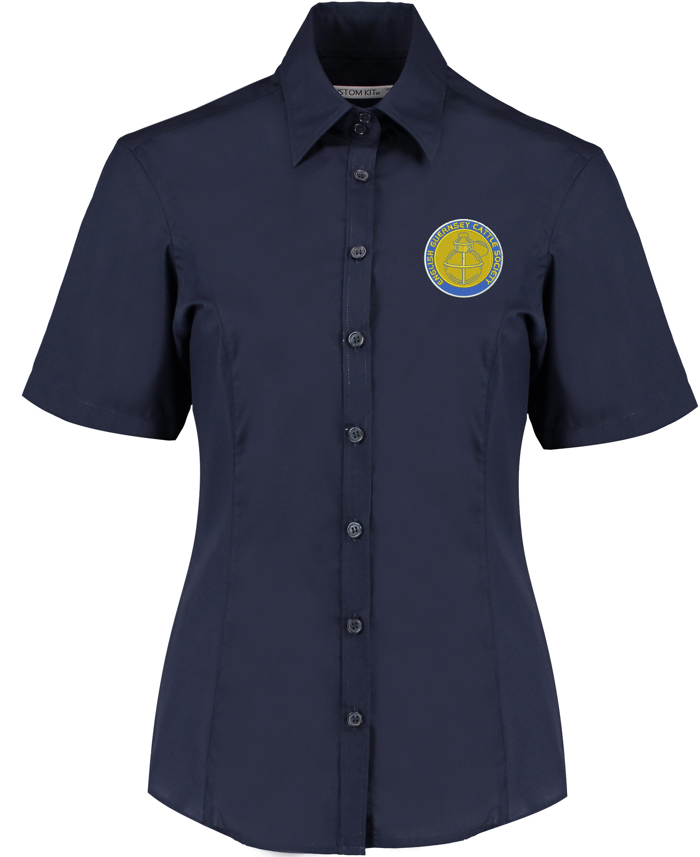 EGCS Ladies Short Sleeved Shirt