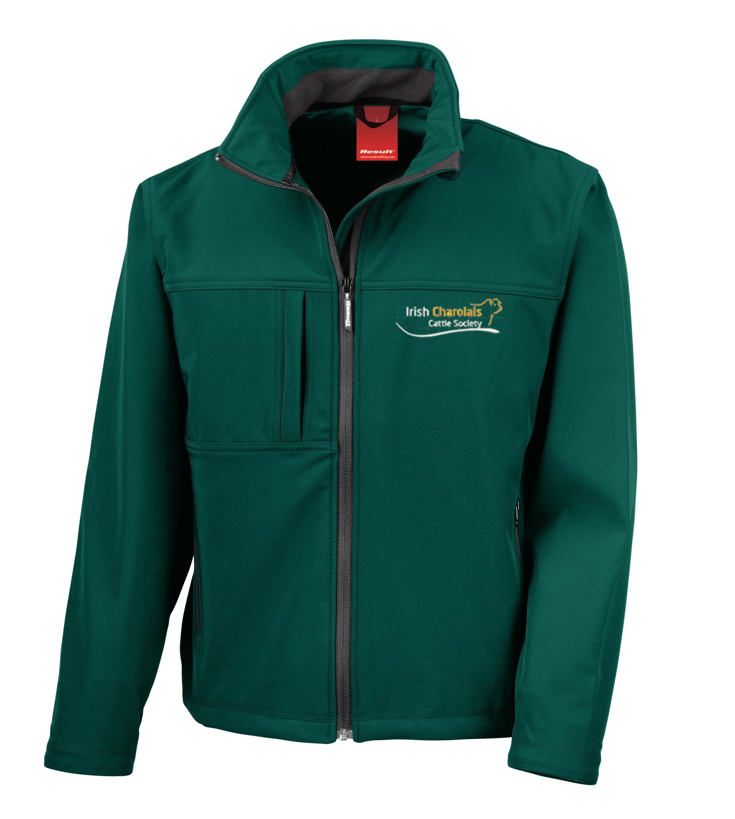 ICS Mens Softshell Jacket