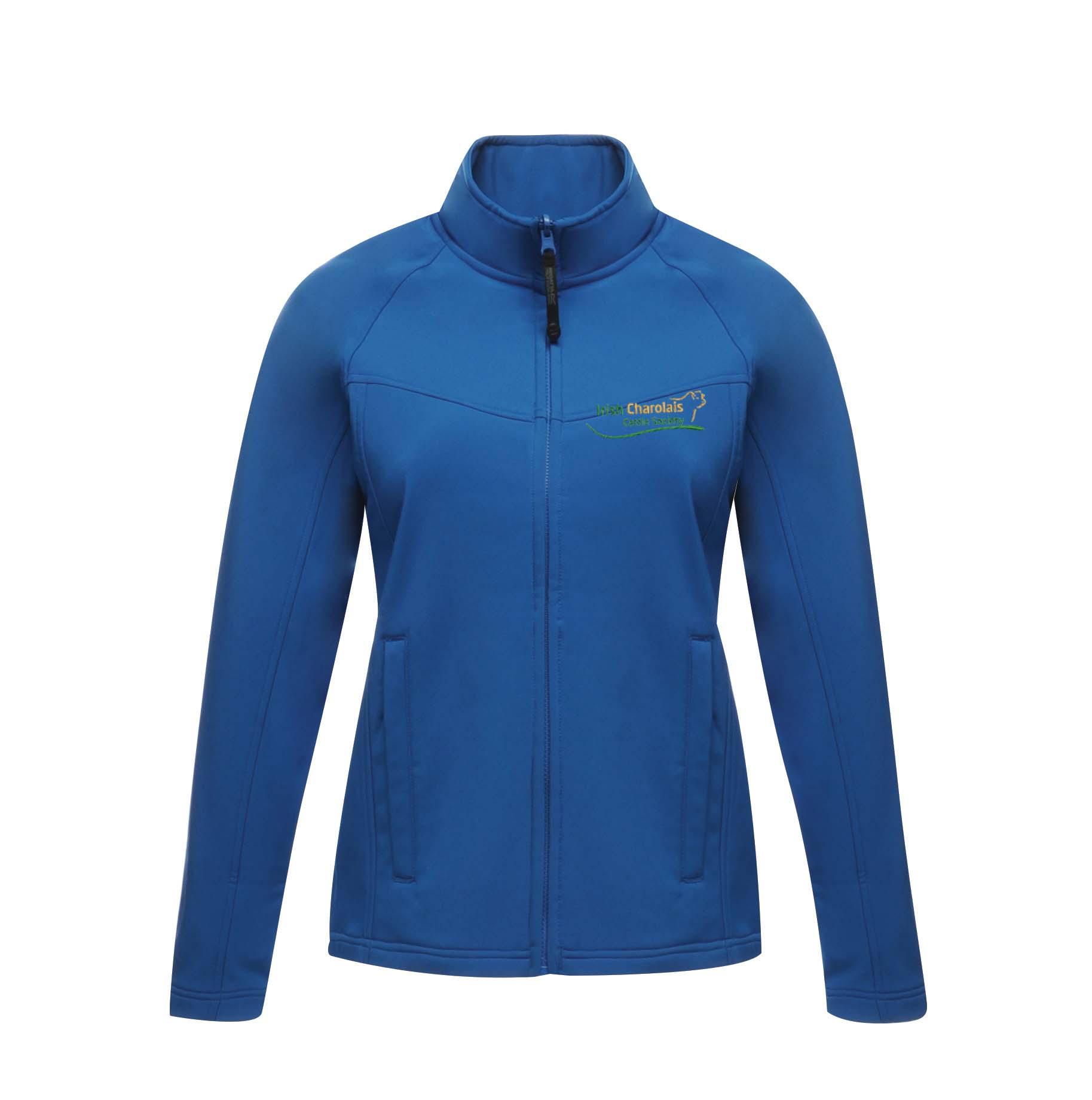 Irish Charolais Cattle Society Uproar Ladies Softshell Jacket