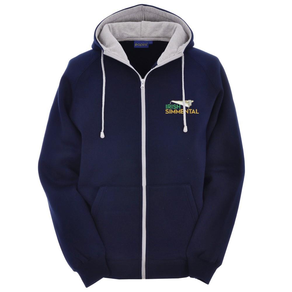 Irish Simmental Full Zipped Hoody