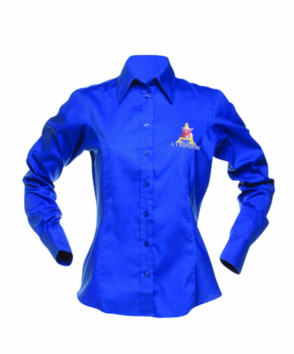 Ayrshire Cattle Society Ladies Long Sleeve Shirt