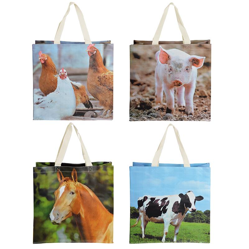 Farmyard Carrier Bag
