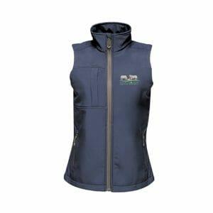 Irish Limousin Cattle Society Octagon Softshell Ladies Bodywarmer