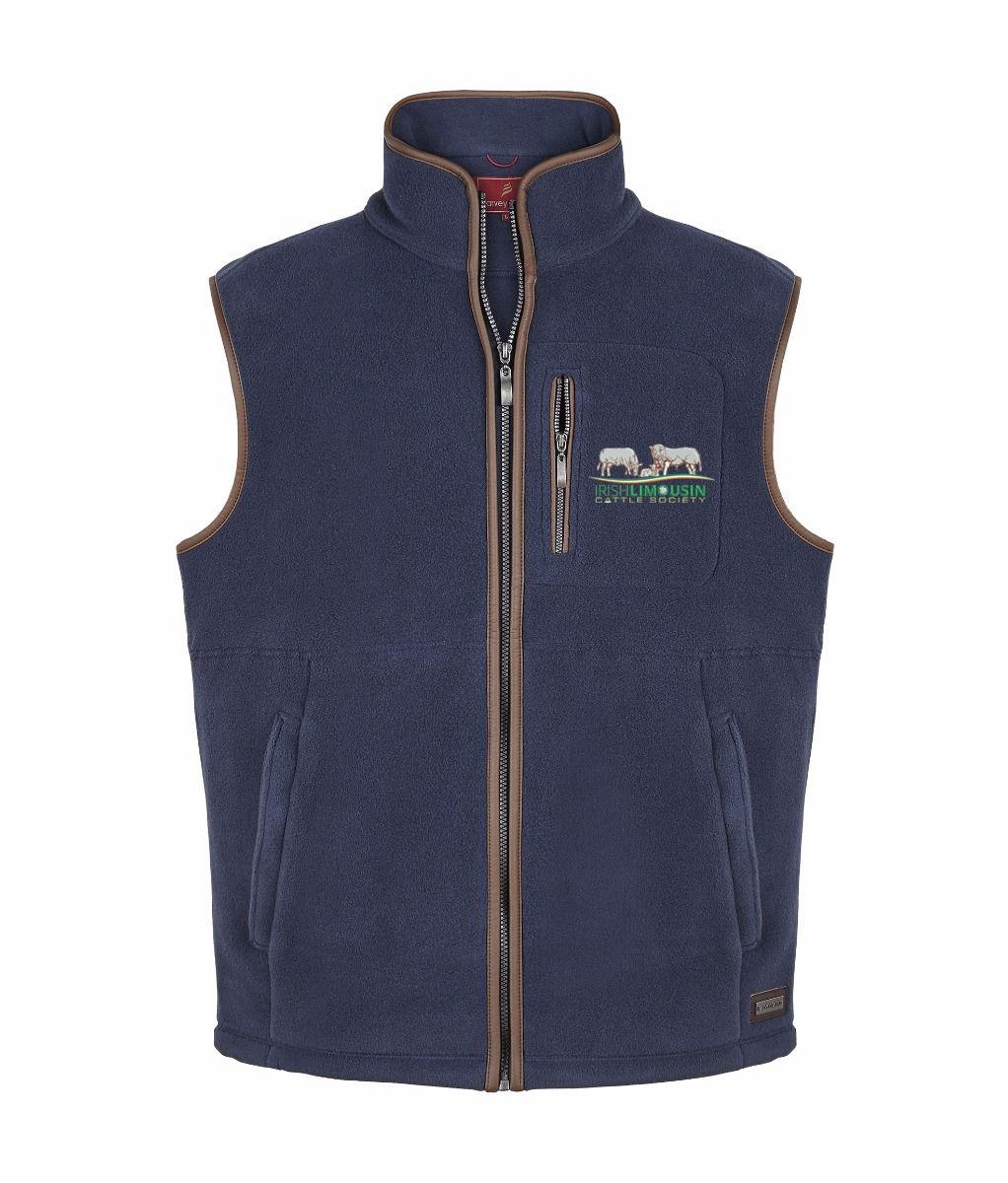 Irish Limousin Cattle Society Stenton Mens Fleece Gilet