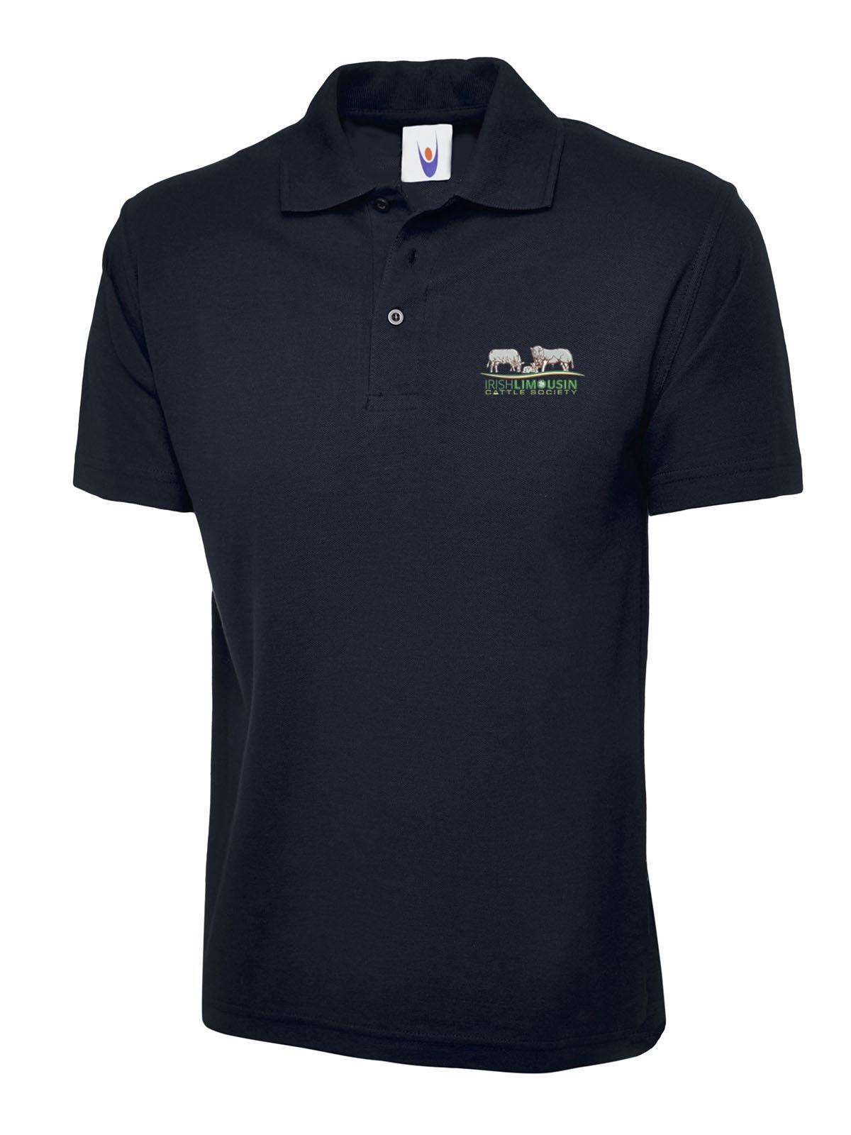 Irish Limousin Cattle Society Unisex Polo Shirt