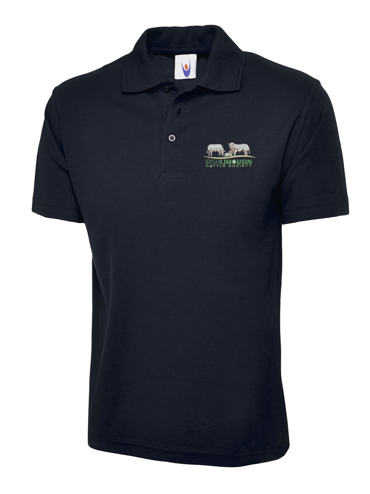 Irish Limousin Cattle Society Uneek Child Polo Shirt