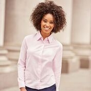 Russell Long Sleeve Easycare Tailored Oxford Shirt – Ladies