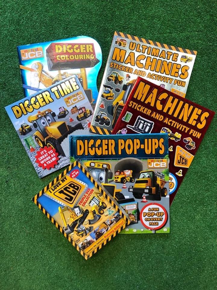 JCB Kids Book & DVD Bundle