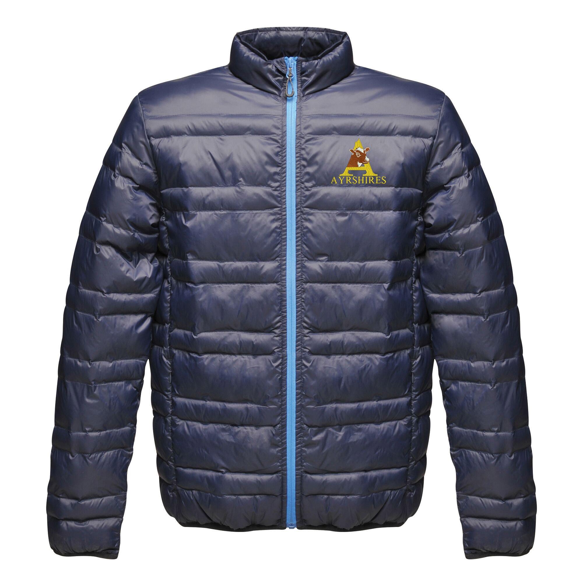 Ayrshire Cattle Society Regatta Firedown down-touch jacket