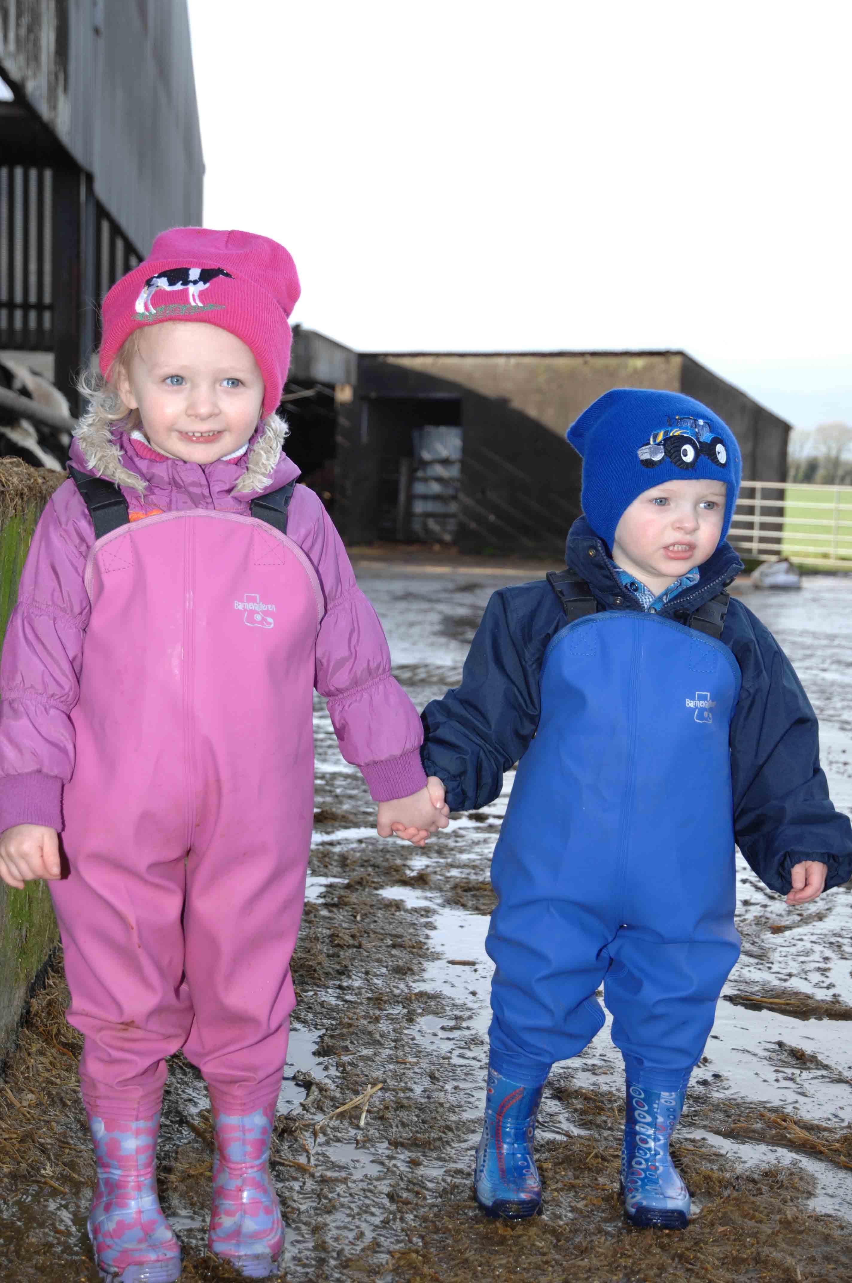 Childrens Playground Wader Waterproofs- Blue