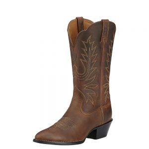 Ariat Ladies Heritage R Toe Western Boots