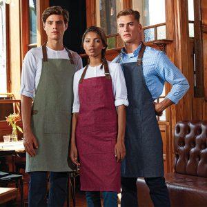 Premier Annex Oxford bib apron