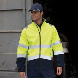 Result Safe-Guard Printable safety softshell jacket