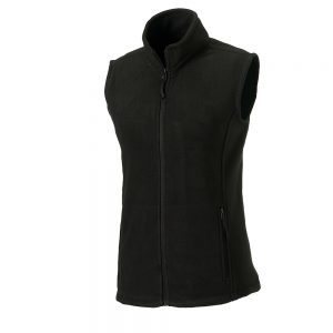 Russell Womens Outdoor fleece gilet – Black