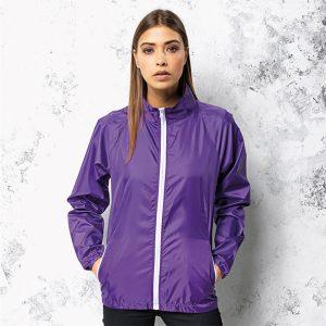 Unisex Contrast Lightweight Jacket