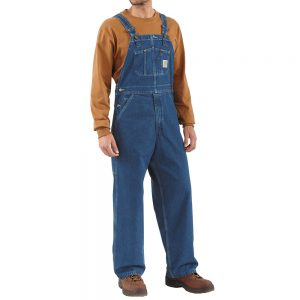 Carhartt Washed Denim Overalls