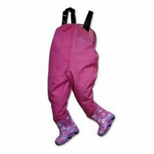 Childrens Playground Wader Waterproofs- Pink