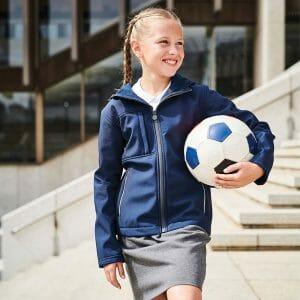 Regatta Kids Octagon 3-layer hooded softshell Jacket