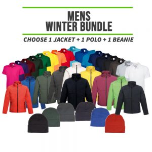 Mens Winter Bundle – INCLUDES SAME FRONT EMBROIDERY LOGO 3 ITEMS