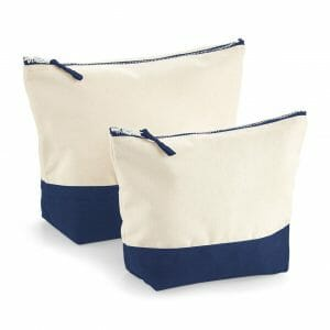 Westford Mill Dipped base canvas accessory bag – Medium