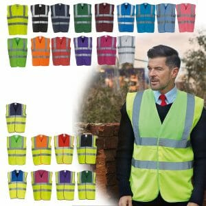 High Visibility 2 Band & Braces Waistcoat
