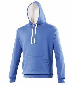 AWD Varsity hoodie – Royal/Artic White – Size S