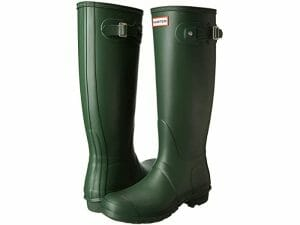 Hunter Original Wellington Boots – Green – Size 7