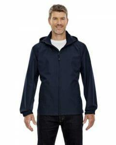 North End Men's Techno Lite Jacket – Midnight Navy – Size L