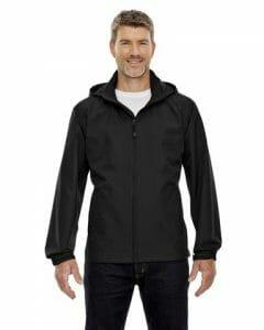 North End Men's Techno Lite Jacket – Black – Size XL