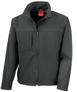 Result Classic Softshell Jacket – Black – Size M