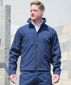 Result Classic Softshell Jacket – Navy – Size 4XL