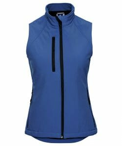 Russell Softshell Ladies Gilet – Azure Blue – Size M / 12