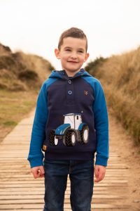 Lighthouse Jack Hoodie – Blue Tractor