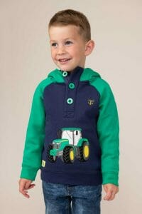 Lighthouse Jack Hoodie – Green Tractor