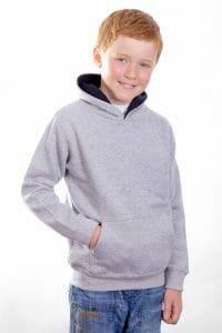 Cottonridge Kids Premium contrast Hoodie