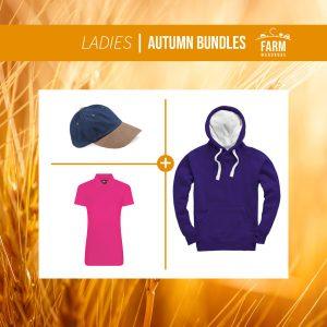 Autumn Ladies Hoodie Bundle – Includes Front Logo