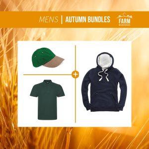 Autumn Men's Hoodie Bundle – Includes Front Logo