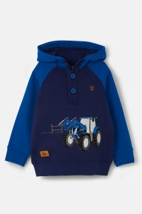 Lighthouse Jack Hoodie – Blue Tractor & Frontloader